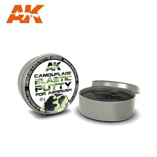 AKI 8076 CAMOUFLAGE ELASTIC PUTTY FOR AIRBRUSH 80 g.