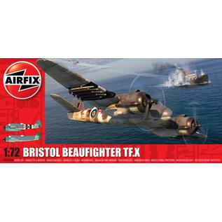 AIRFIX AIR A04019A BRISTOL BEAUFIGHTER TF.X KIT 1/72
