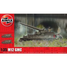 AIRFIX AIR A1372 M12 GMC MODEL KIT 1/35