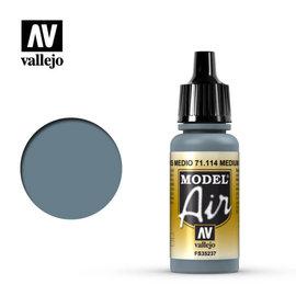 VALLEJO VAL 71114 MODEL AIR MEDIUM GRAY