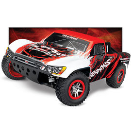 TRAXXAS TRA 68086-4-RED Slash 4X4: 1/10 Scale 4WD Electric Short Course Truck with TQi Traxxas Link Enabled 2.4GHz Radio System & Traxxas Stability Management