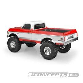 """JCO 0416 1970 Chevy C10 Clear Body, 12.3"""" Wheelbase"""