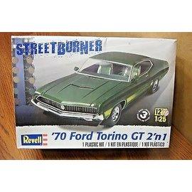 REVELL USA RMX 854099 70 FORD TORINO MODEL KIT 1/25