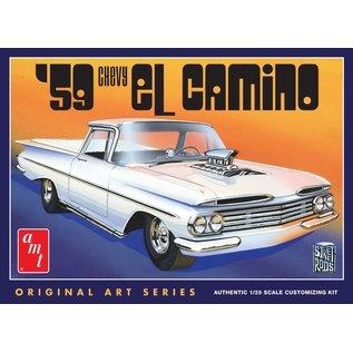 AMT AMT 1058 1/25 1959 Chevy El Camino Original Art Series  1/25 MODEL KIT