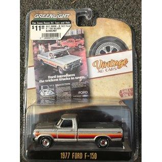 GREENLIGHT COLLECTABLES GLC 39060-B 1977 Ford F-150 SILVER SUNBURST