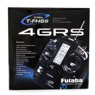 FUTABA FUT 01004366-3 4GRS 2.4GHz T-FHSS Surface Radio System w/R304SB Receiver