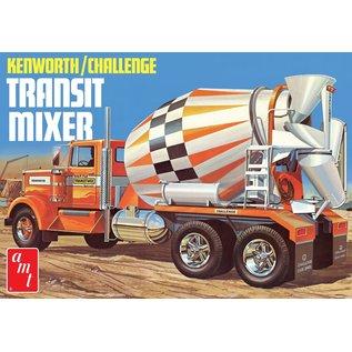 AMT AMT 1215 1/25 Kenworth Challenge Transit Cement Mixer 1/25 MODEL KIT
