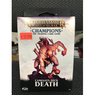 GAMES WORKSHOP PLF W82505 AOS CAMPAIGN DECK DEATH TRADING CARD GAME