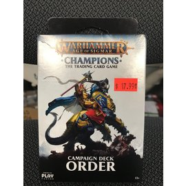 GAMES WORKSHOP PLF W82503 AOS CAMPAIGN DECK ORDER TRADING CARD GAME