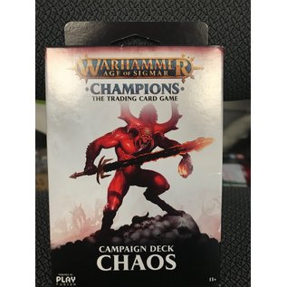GAMES WORKSHOP PLF W82504 AOS CAMPAIGN DECK CHAOS