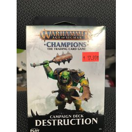 GAMES WORKSHOP PLF W82506 AOS CAMPAIGN DECK DESTRUCTION