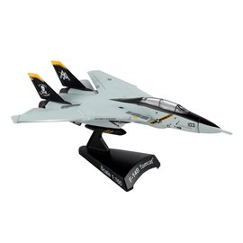 "DARON DWT PS53833 F14 TOMCAT DIECAST ""JOLLY ROGERS US NAVY 1:160 SCALE"