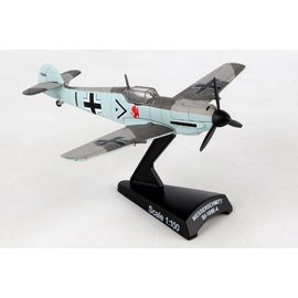 DARON DAR PS5336-5 MESSERSCHMITT BF-109 BLACK 1 ADOLF GALLAND 1:100 SCALE