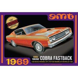 AMT AMT 1217M 1/25 1969 Ford Torino Cobra Fastback