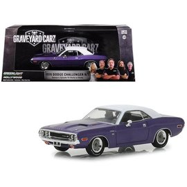 GREENLIGHT COLLECTABLES GLC 86553 GRAVEYARD CARZ  CHALLENGER 1/43  (SLIGHT FADE TO BOX)