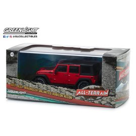 GREENLIGHT COLLECTABLES GLC 86093 JEEP RUBICON 2017 UNLIMITED 1/43