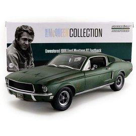 GREENLIGHT COLLECTABLES GLC 13523 BULLIT UNRESTORED 1/18 DIECAST