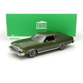 GREENLIGHT COLLECTABLES GLC 19018 1976 FORD GRAN TORINO 1/18 (BOX FADED)