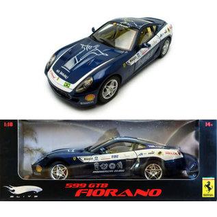 HOT WHEELS H/W L7125 FERRARI 599 GTB FIORANO 1/18 DIECAST
