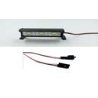 ON POINT ONP 1953 1/10 ALUMINUM LIGHT BAR BLACK - 3 LEDS