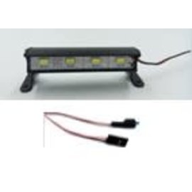 ON POINT ONP 1954 1/10 ALUMINUM LIGHT BAR BLACK - 4 LEDS