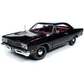 AUTOWORLD AMM 1204 1969  PLYMOUTH GTX BLACK (MCACN)