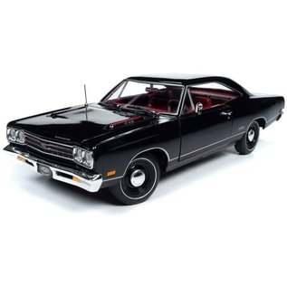 AUTOWORLD AMM 1204 1969  PLYMOUTH GTX BLACK (MCACN)