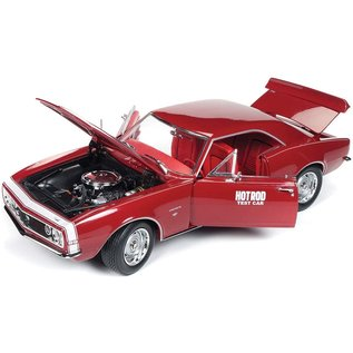 AUTOWORLD AMM 1163 1967 CHEVY CAMARO SS HOTROD TEST CAR RED