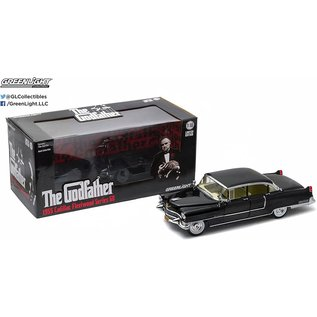 GREENLIGHT COLLECTABLES GLC 12949 1955 CADILLAC FLEETWOOD SERIES 60 (THE GODFATHER)