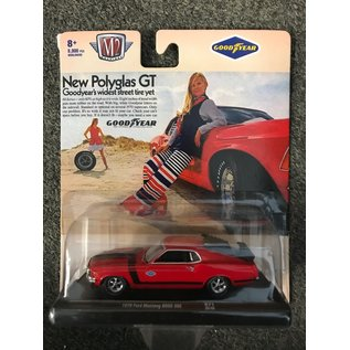 GREENLIGHT COLLECTABLES M2 11228-F 1970 Ford Mustang BOSS 302 RED