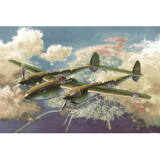 Academy/Model Rectifier Corp. ACA 12208 1/48 P-38F GLACIER GIRL MODEL KIT