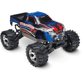 TRAXXAS TRA 67054-1-BLUE Stampede 4X4: 1/10-scale 4WD Monster Truck