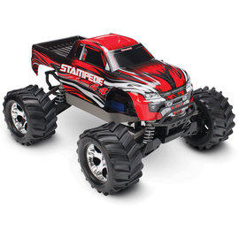 TRAXXAS TRA 67054-1-RED Stampede 4X4: 1/10-scale 4WD Monster Truck