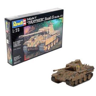 REVELL GERMANY REV 03171 1/72 Kpfw. V Panther Ausg. G