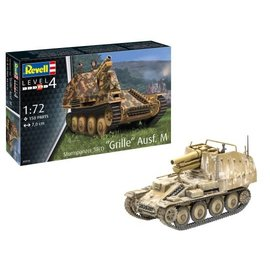 "REVELL GERMANY REV 03315 STURMPANZER 38(T) ""GRILLE"" AUSF. M 1/72 MODEL KIT"