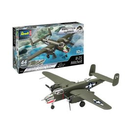 REVELL GERMANY REV 03650 1/72 B-25 Mitchell SNAP KIT