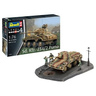 REVELL GERMANY REV 03288 1/76 Sd.Kfz. 234/2 Puma Model kit