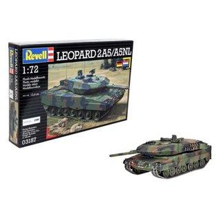 REVELL GERMANY REV 03187 1/72 Leopard 2A5/A5NL MODEL KIT