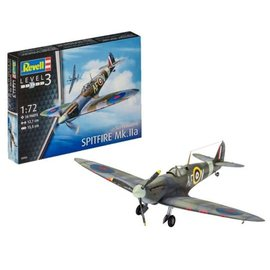 REVELL GERMANY REV 03953 1/72 Spitfire MK.IIA MODEL KIT