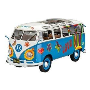 REVELL GERMANY REV 07050 1/24 VW T1 Samba Bus Flower Power