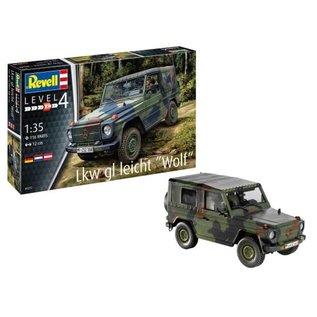 REVELL GERMANY REV 03277 1/35 Lkw gl leicht Wolf MODEL KIT