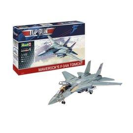 REVELL GERMANY REV 03865 MAVERICK'S F-14A TOMCAT 1:48 MODEL KIT