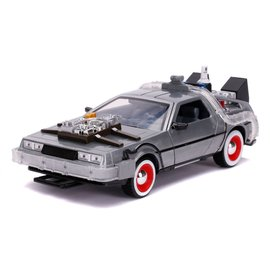 JADA TOYS JAD 32166 TIME MACHINE BACK TO THE FUTURE III W/LIGHT