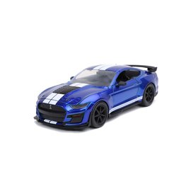 JADA TOYS JAD 32409 2020 Ford Mustang SHELBY GT500 CANDY BLUE 1/24