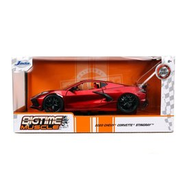 JADA TOYS JAD 32538 2020 CHEVY CORVETTE STINGRAY CANDY RED