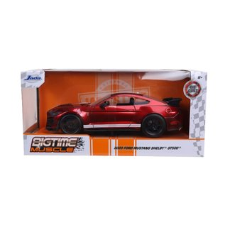 JADA TOYS JAD 32662 2020 Ford Mustang SHELBY GT500 GLOSSY RED