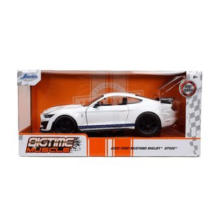 JADA TOYS JAD 32663 2020 Ford Mustang SHELBY GT500 GLOSSY WHITE