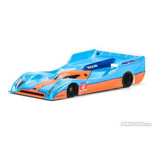 Proline Racing PRM 156630 Vulcan Regular Weight Clear Body, for 235mm Pan Car (Pro-10)