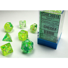 CHESSEX CHX 30018 LAB DICE LIMITED EDITION 7 PACK GLOW