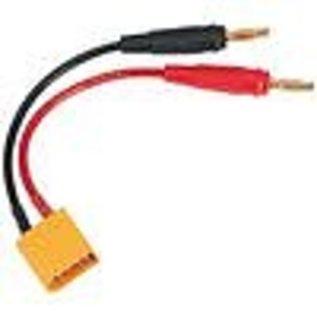 DTX C2224 Charge Lead Banana Plugs To XT90 Male